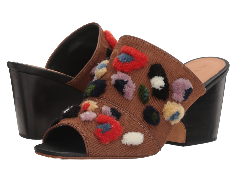 Rachel Comey - Dahl (Leopard Embroidery/Black) Womens Shoes