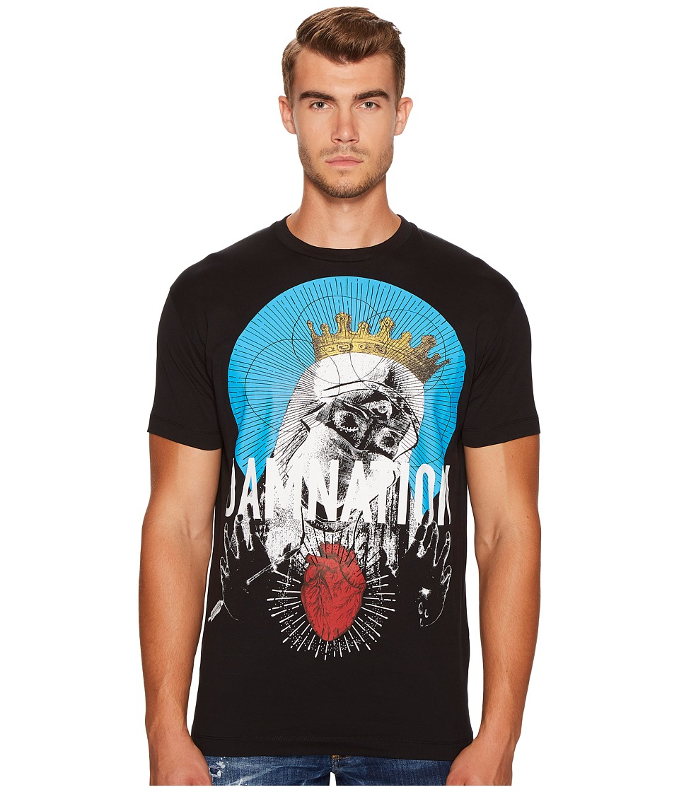DSQUARED2 Damnation T-Shirt (Black) Men