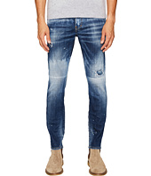 DSQUARED2 - Light Canadian Wash Skater Jeans in Blue