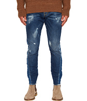 DSQUARED2 - Butch Wash Sexy Twist Jeans in Blue