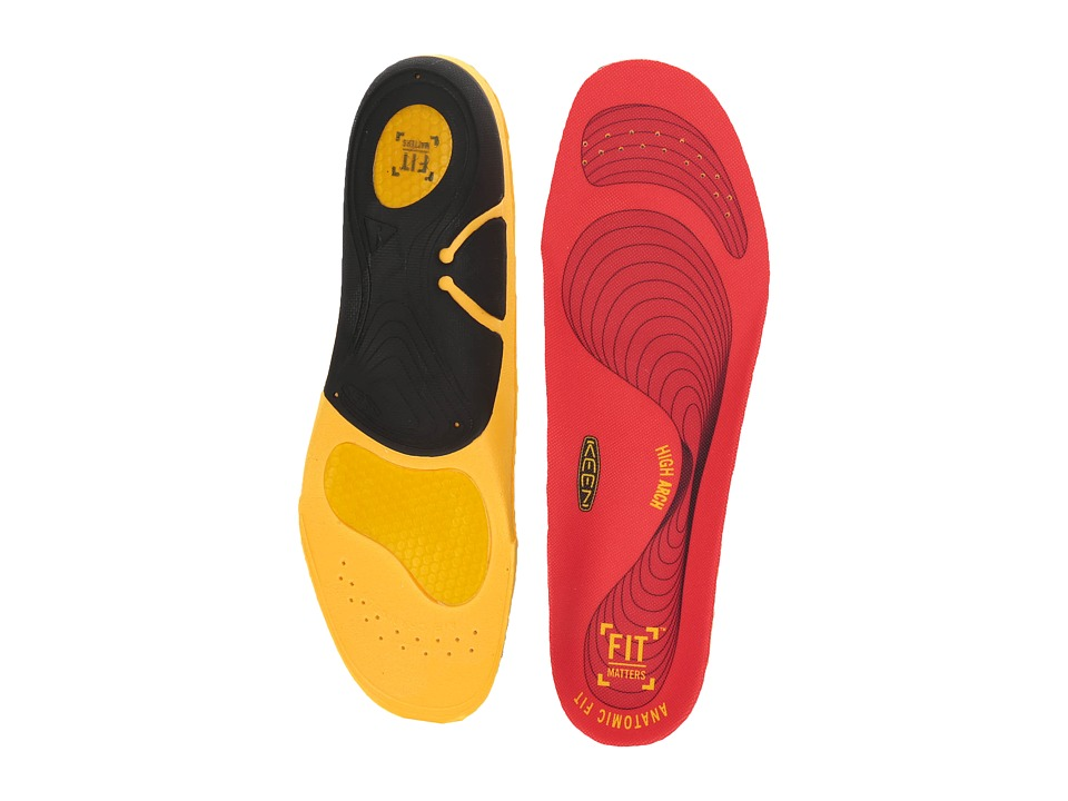 Keen Utility - K30 High Arch (Red) Insoles Accessories Shoes