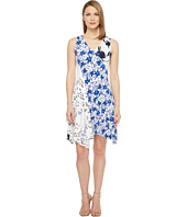 Ivanka Trump - Jersey Mixed Print Dress