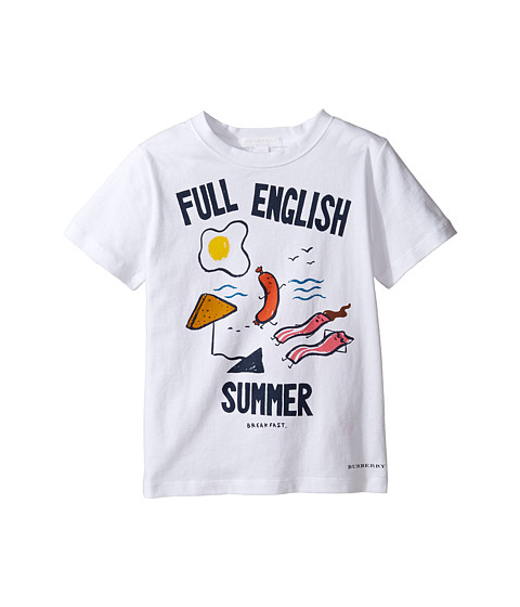 Burberry Kids Full English Tee (Little Kids/Big Kids)