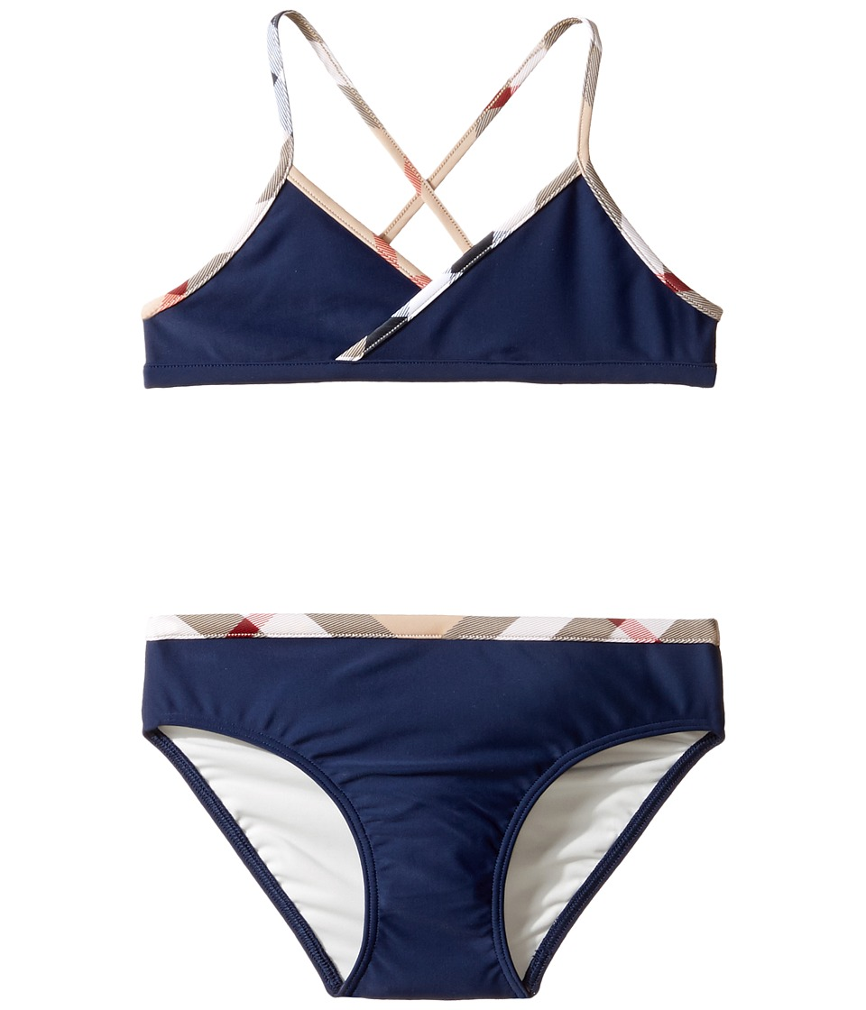 Burberry Kids - Crosby Swimsuit (Little Kids/Big Kids) (N...