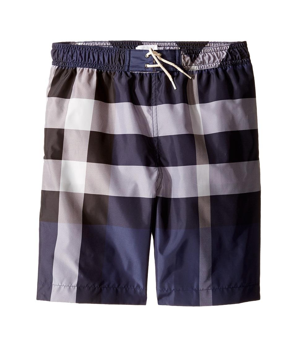 Burberry Kids - Mini Jeffries Swimsuit (Little Kids/Big Kids) (Ink) Boys Swimwear