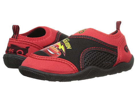 Josmo Kids Cars Aqua Sock (Toddler/Little Kid) - Red/Black