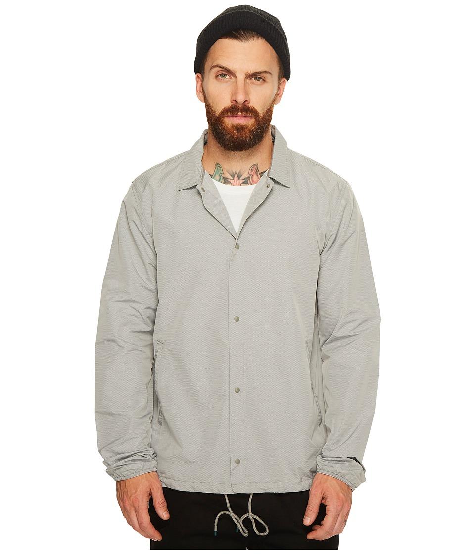 Herschel Supply Co. - Voyage Coach Jacket (Light Grey Crosshatch) Coat