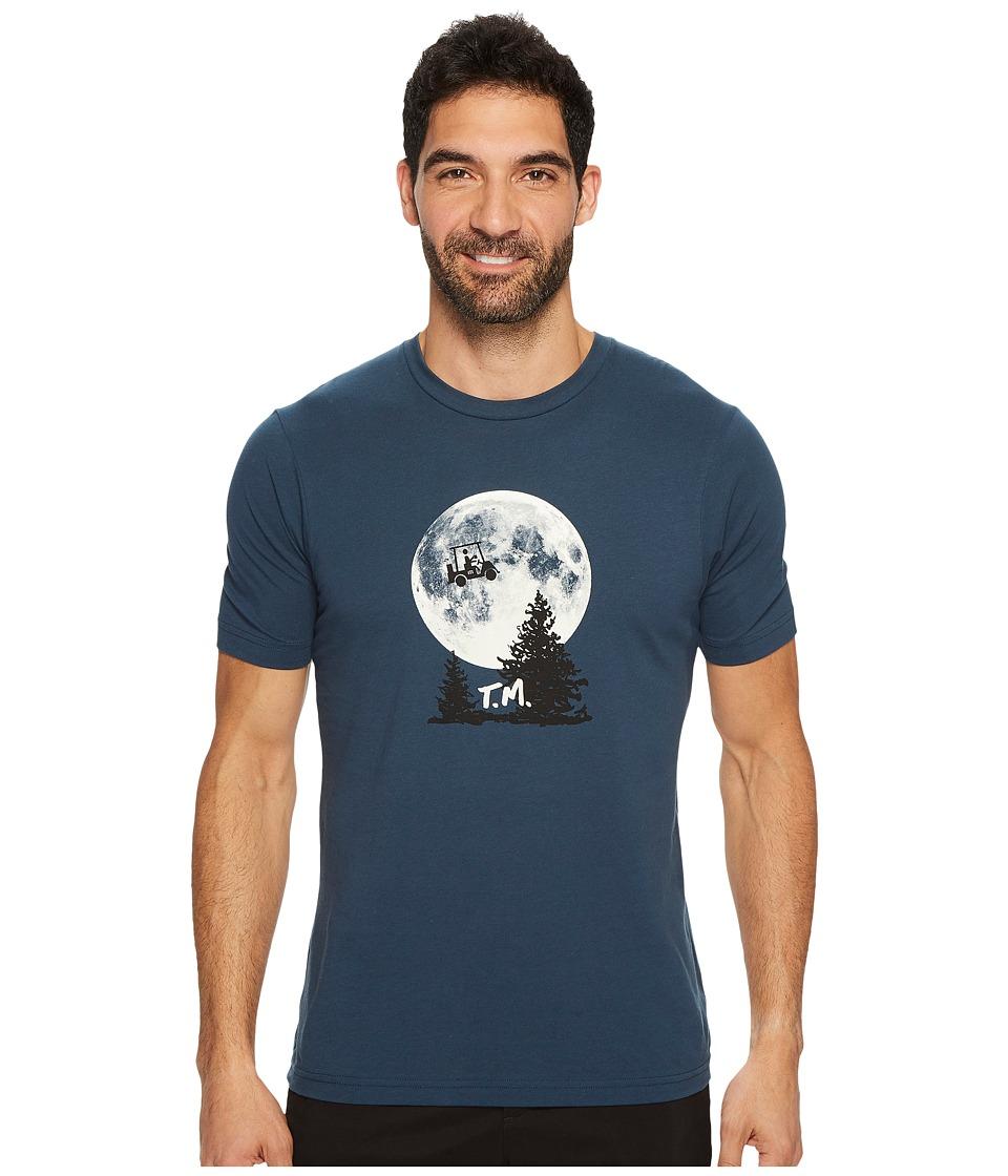 TravisMathew Phone Home T-Shirt (Blue Nights) Men