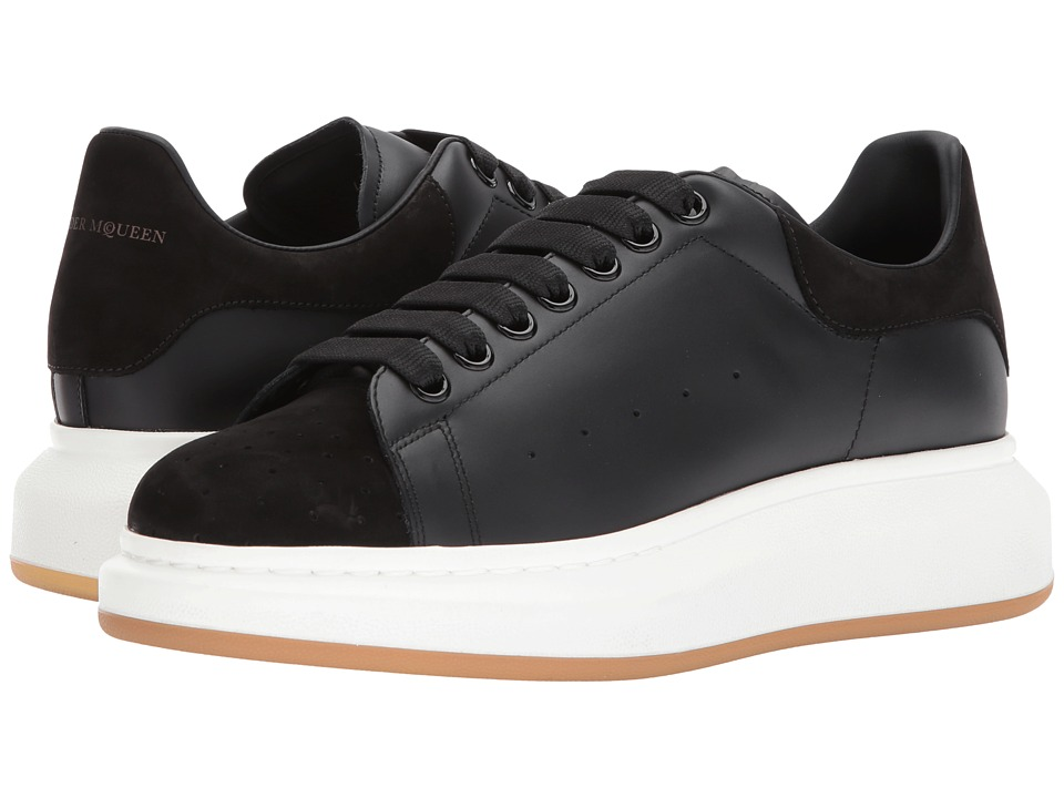 Alexander McQueen - Leather Perforated Nubuck Sneaker