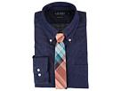 LAUREN Ralph Lauren Classic Fit Solid Button Down Collar Dress Shirt