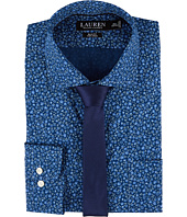 LAUREN Ralph Lauren - Slim Fit Non Iron Floral Dress Shirt