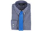 LAUREN Ralph Lauren Classic Fit Non Iron Poplin Plaid Button Down Collar Dress Shirt