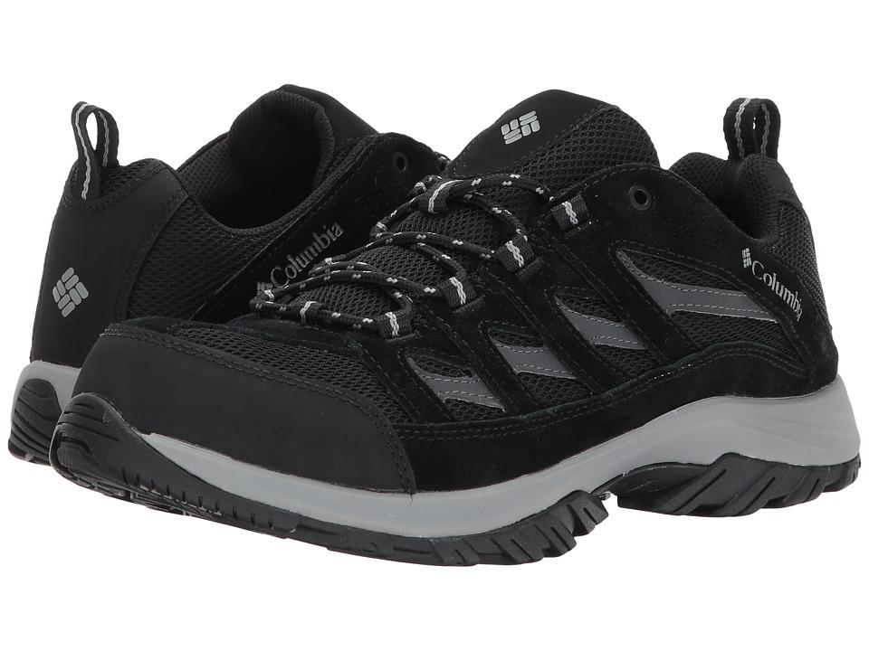 Columbia Crestwood (Black/Columbia Grey) Men's Shoes
