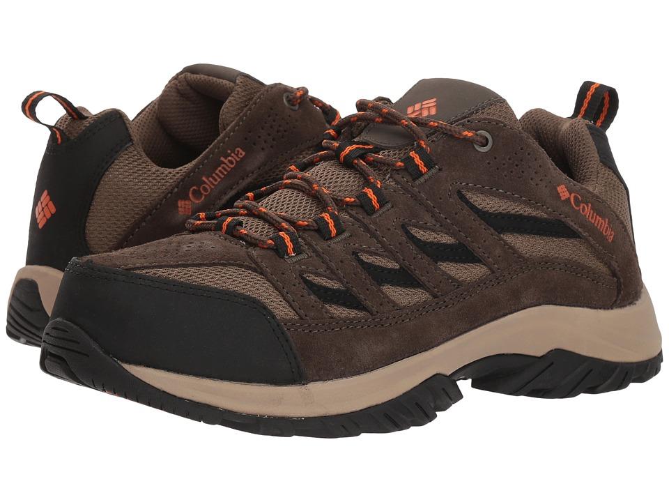 Columbia Crestwood (Camo Brown/Heatwave) Men's Shoes