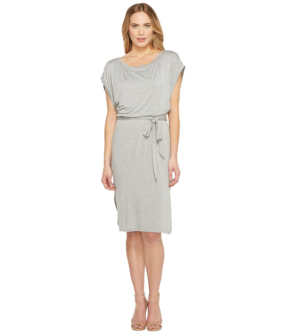 Three Dots Dolman EZ Dress (Granite) Women