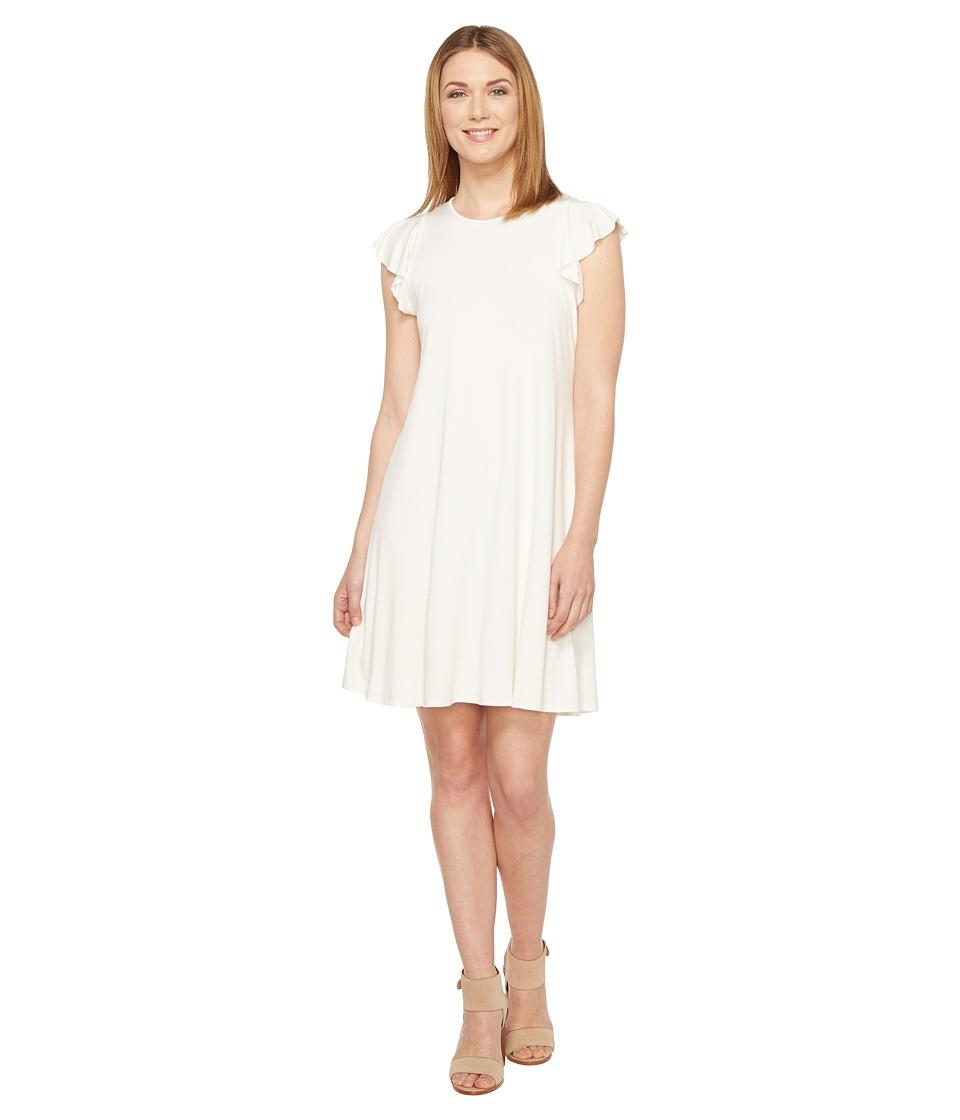 Three dots henley maxi dress
