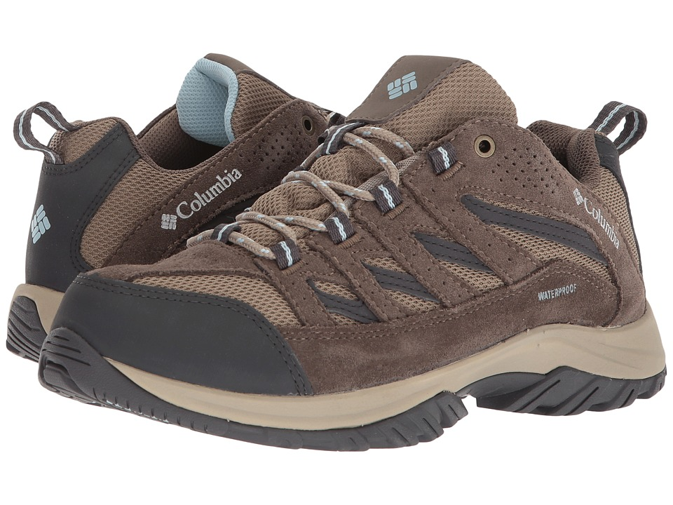 Columbia Crestwood Waterproof (Pebble/Oxygen) Women's Shoes