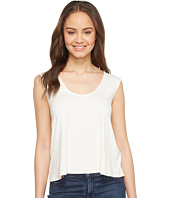 Three Dots - Sleeveless Drape Back Top