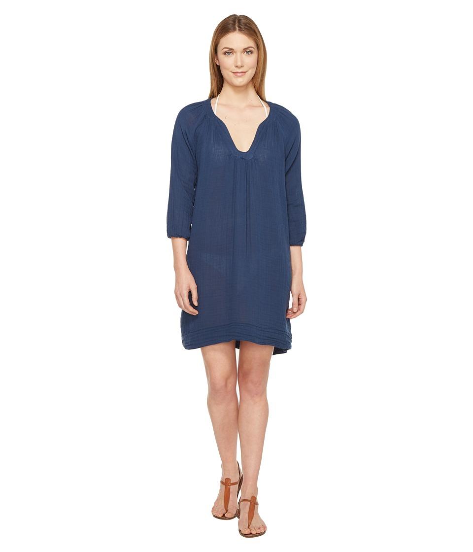 Three Dots Cover-Up Dress (Super Blue) Women