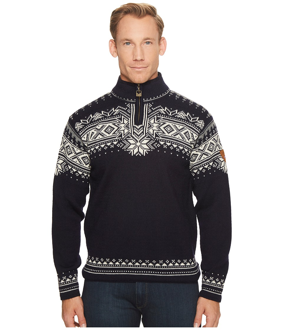Dale of Norway - Dale 125th Anniversary (C-Navy/Off-White/Smoke) Mens Sweater