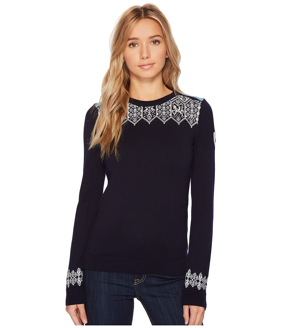 Dale of Norway Lillehammer Sweater (C-Navy/Blue/Off-White...