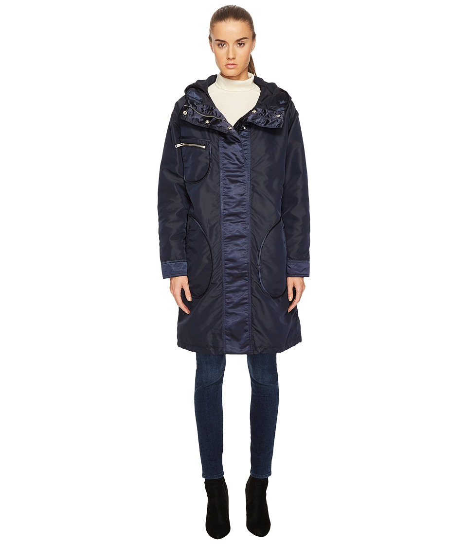 BELSTAFF - Claredon Gabardine Jacket (Midnight Blue) Womens Coat