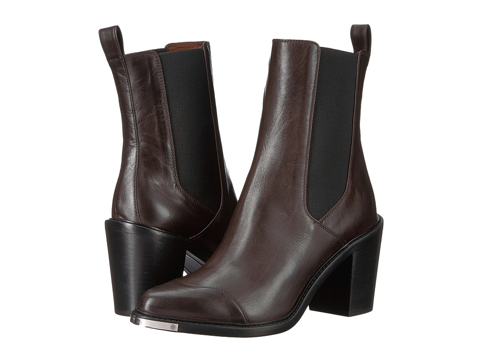 BELSTAFF Aviland Calf Leather Ankle Boots (Brown) Women