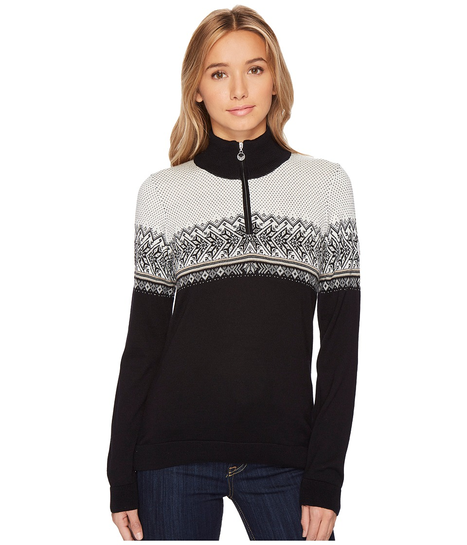 Dale of Norway - Hovden Sweater (F-Black/Light Charcoal/Smoke/Beige/Off-White) Womens Sweater