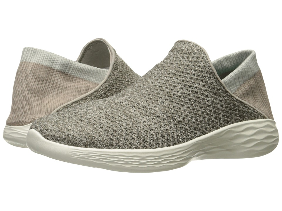 SKECHERS Performance You Movement (Taupe) Women