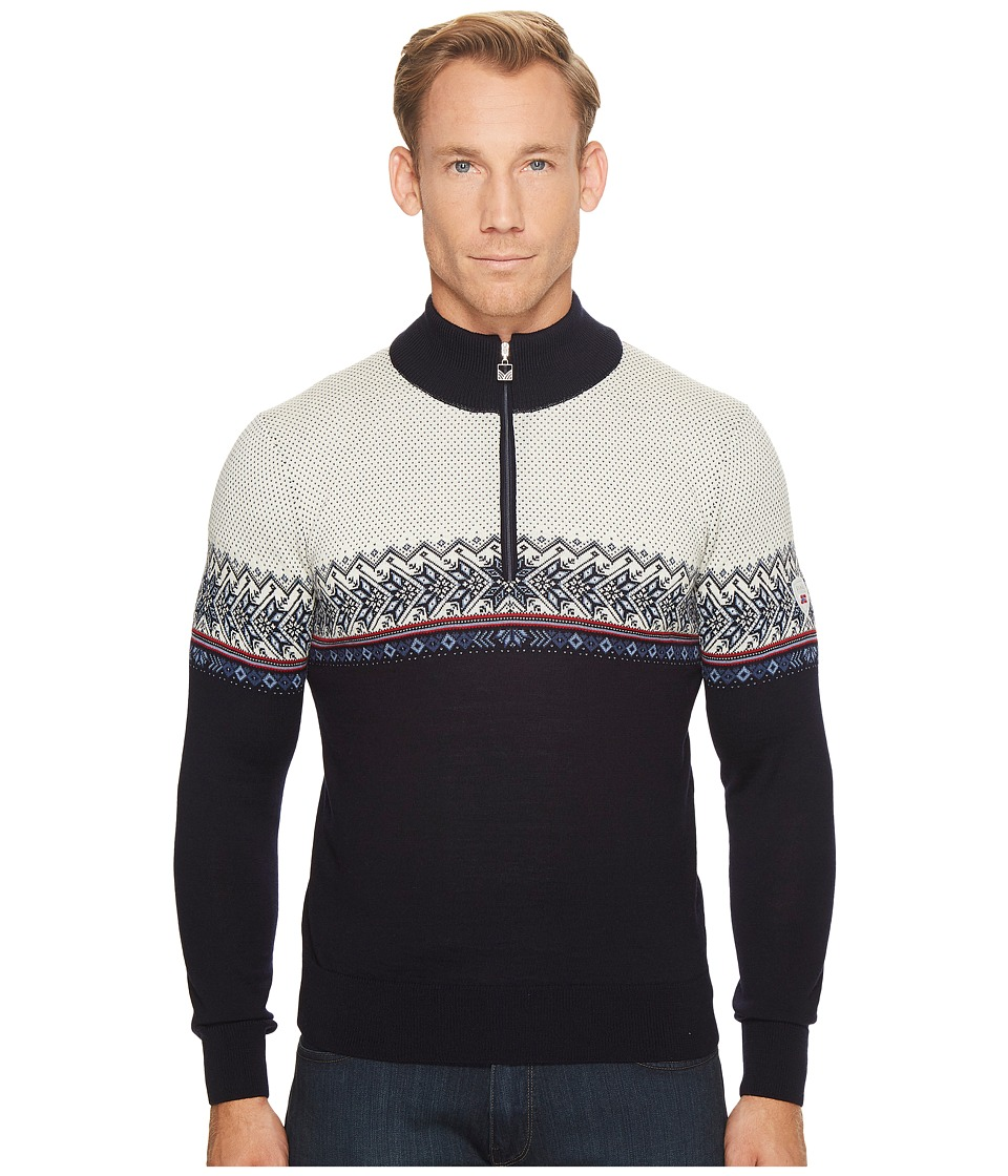 Dale of Norway - Hovden Sweater (C-Navy/Blue Shadow/Indigo/Raspberry/Off-White) Mens Sweater