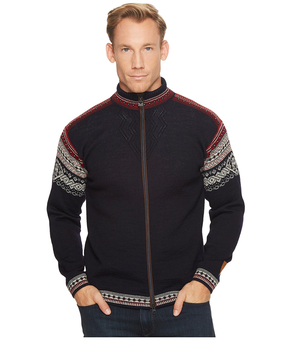 Dale of Norway - Bergen (C-Navy/Light Charcoal/Red Rose) Mens Clothing