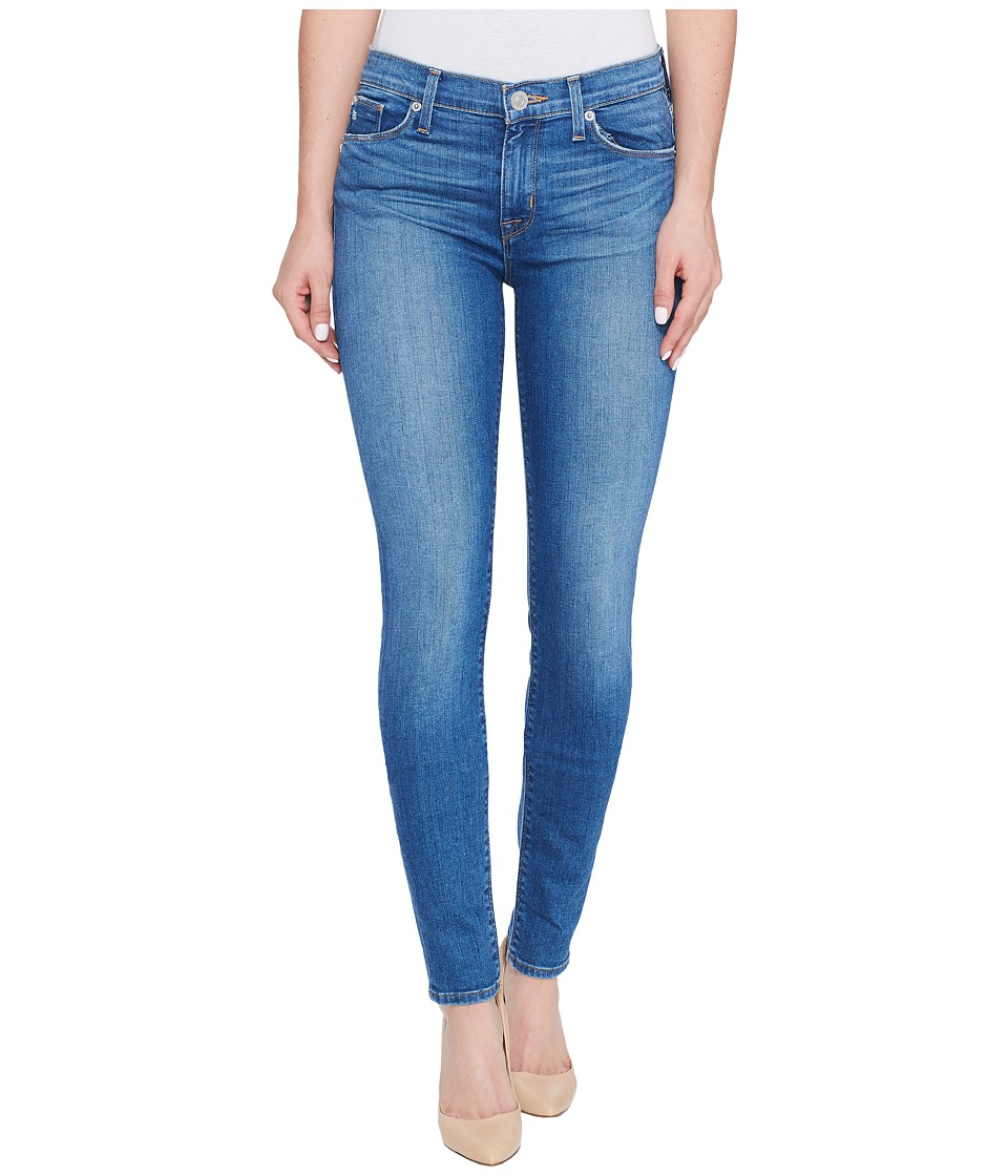 Hudson Nico Mid-Rise Super Skinny Five-Pocket Jeans in Rumors (Rumors) Women