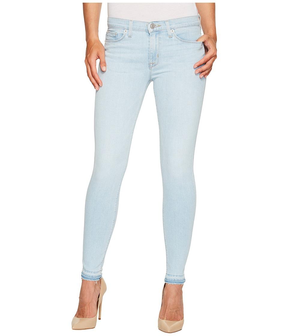 Hudson Nico Mid-Rise Ankle Super Skinny w/ Released Hem Five-Pocket Jeans in Bliss (Bliss) Women