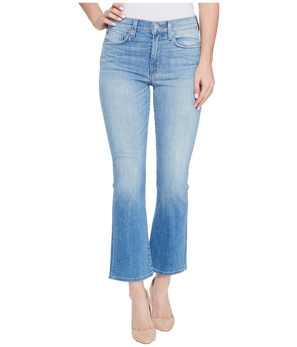 Hudson Brixx High-Rise Crop Flare Five-Pocket Jeans in Stunner (Stunner) Women