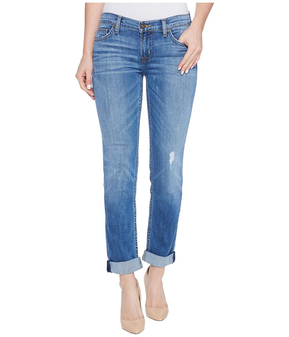 Hudson Tally Cropped Skinny Five-Pocket Jeans in Intruder (Intruder) Women
