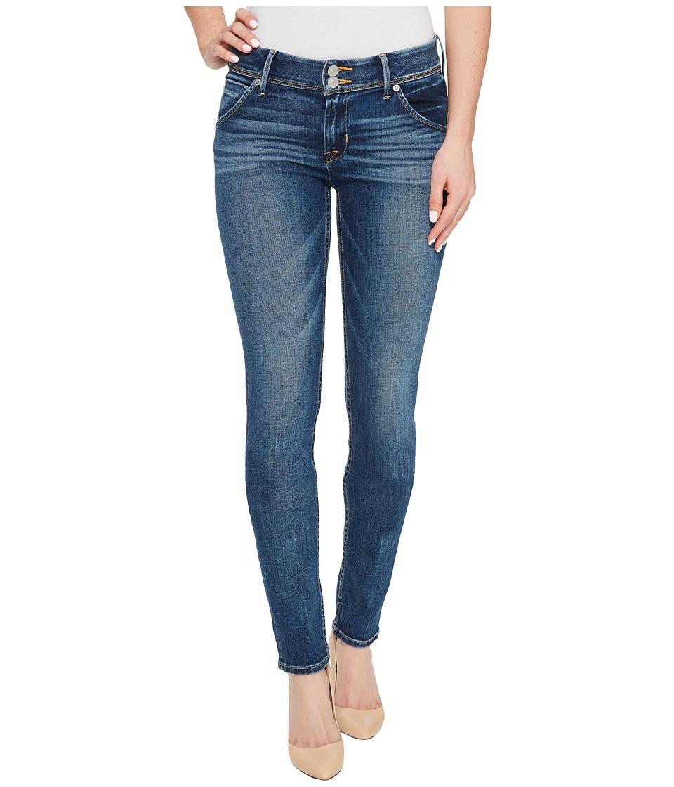 Hudson Collin Mid-Rise Skinny Flap Jeans in Lonestar (Lonestar) Women