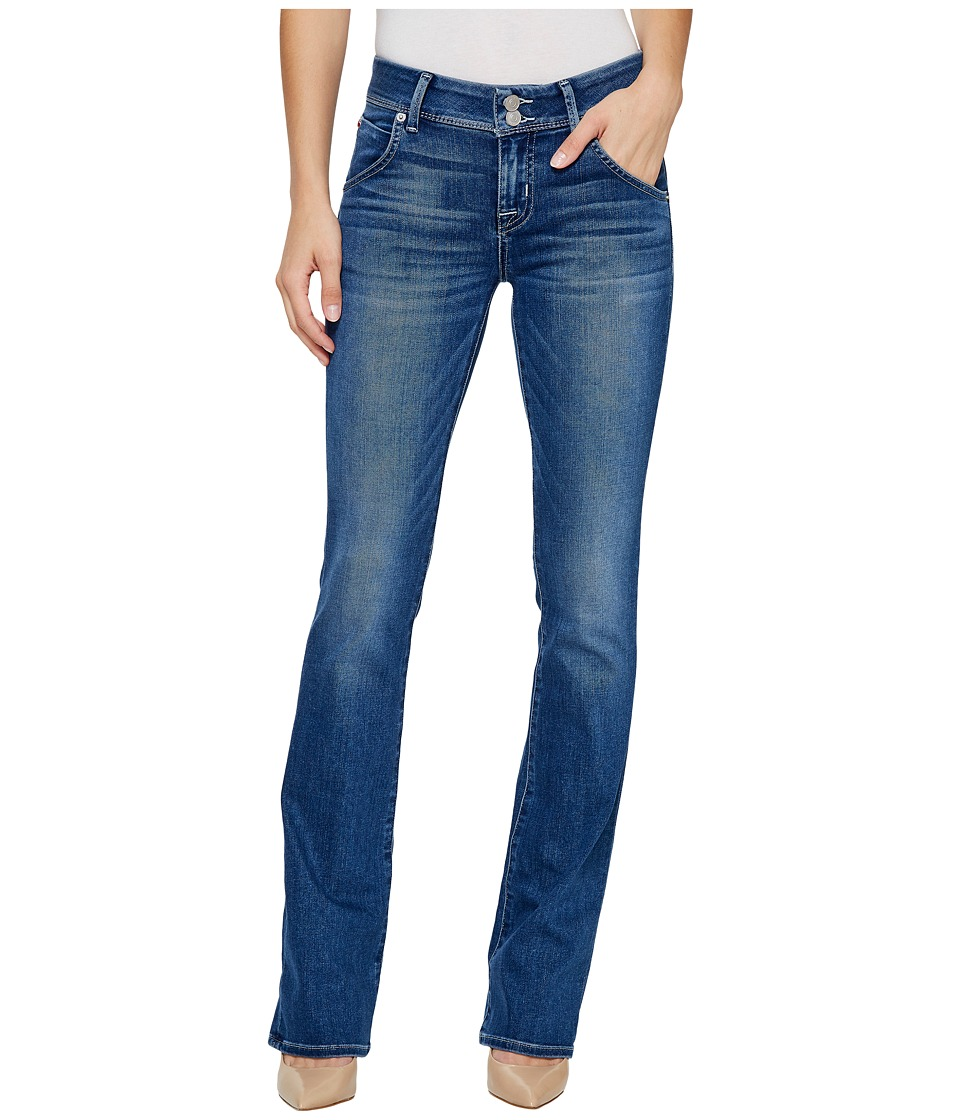 Hudson Beth Mid-Rise Baby Boot Flap Jeans in Roll with It (Roll with It) Women
