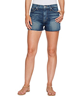 Hudson - Dahlia High-Rise Dolphin Denim Shorts in Fortune