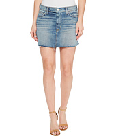 Hudson - Vivid Denim Mini Skirt w/ Raw Hem in Sunday Girl