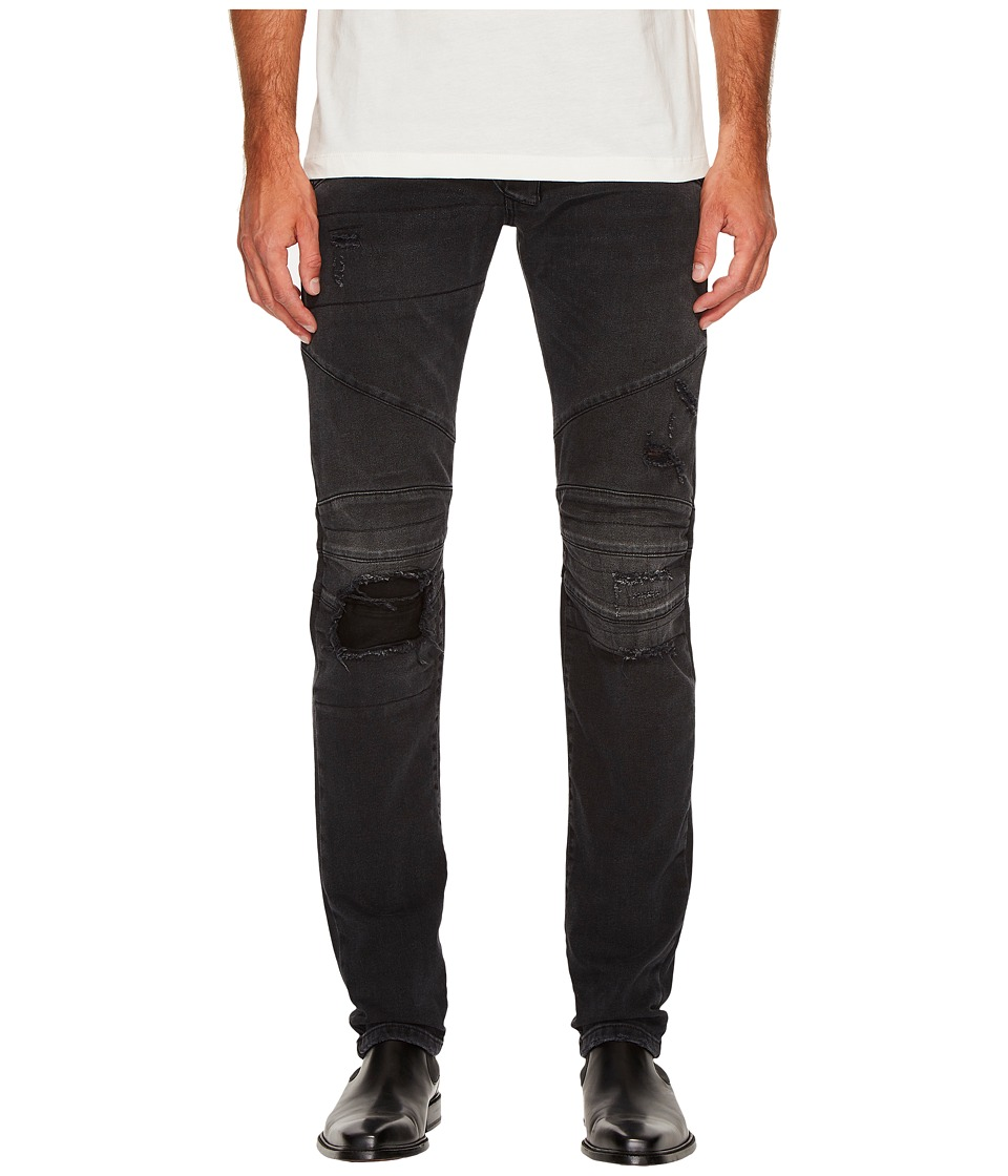 Pierre Balmain - Distressed Panelled Jeans