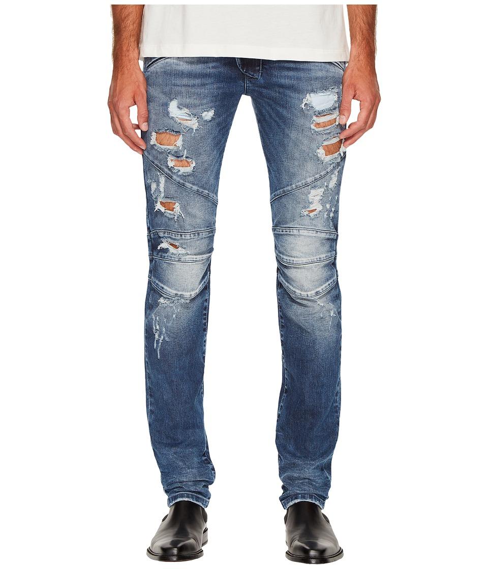 Pierre Balmain - Distressed Biker Jeans