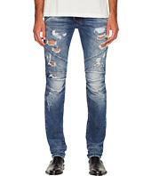 Pierre Balmain - Distressed Biker Jeans