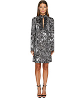 Just Cavalli - Roses Printed Long Sleeve Dress