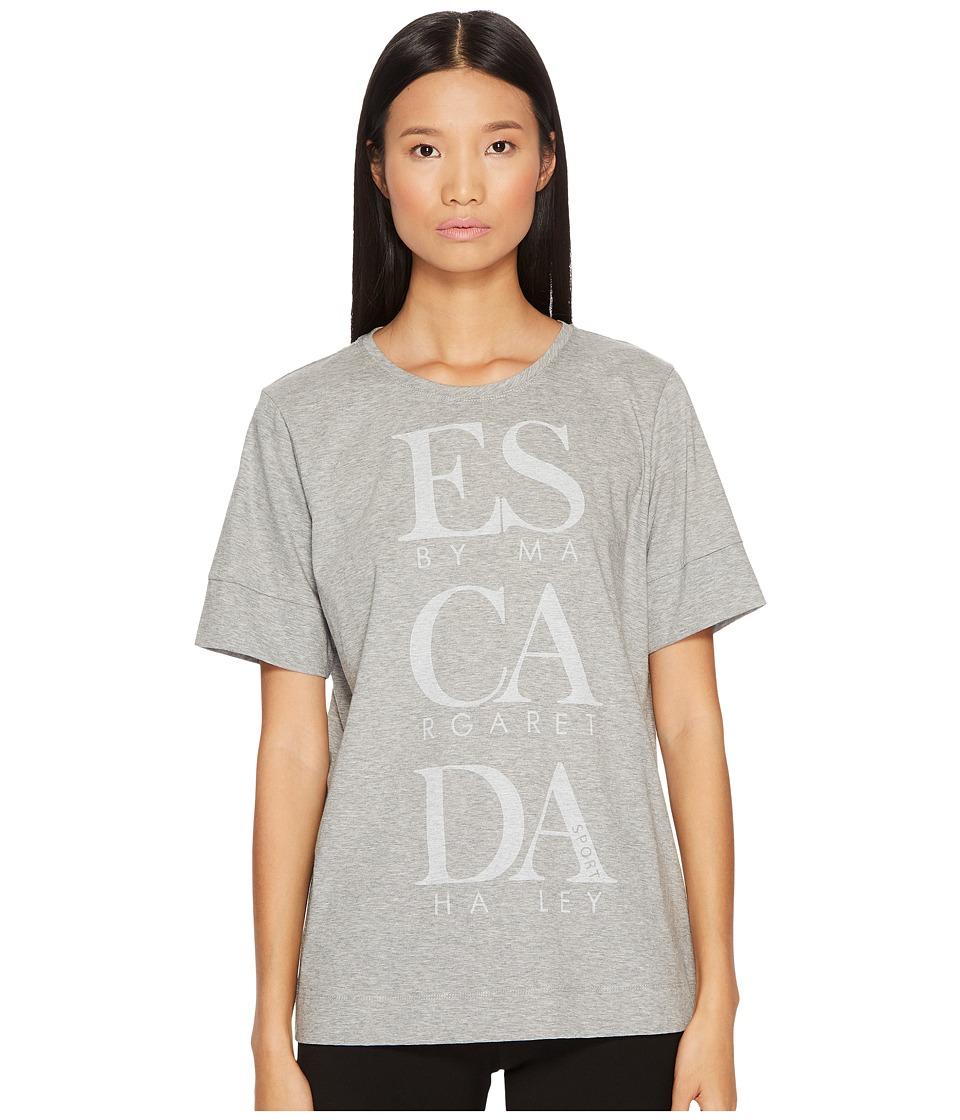 ESCADA Sport - Eforo Escada Printed Tee (Vapour) Womens T Shirt