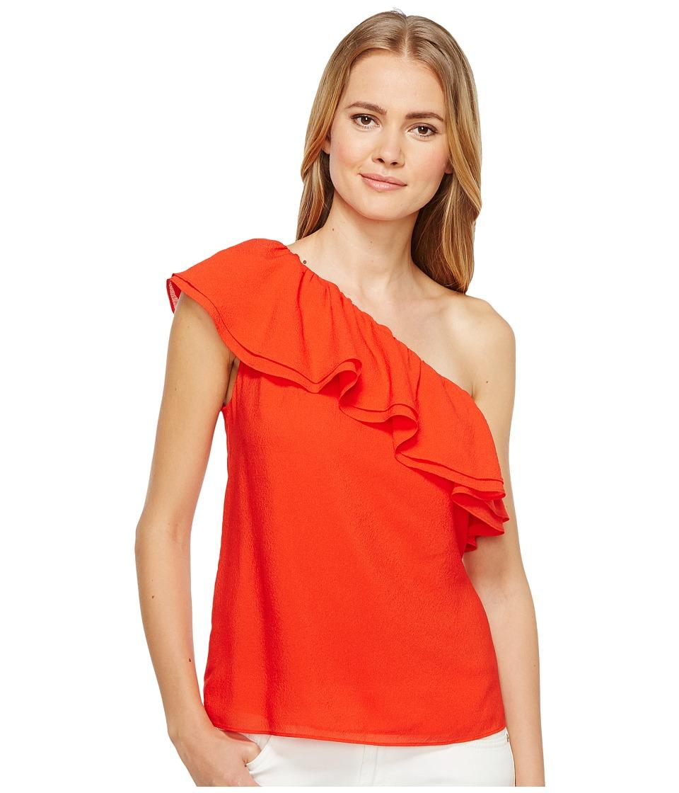 Rebecca Taylor - One Shoulder Silk Top