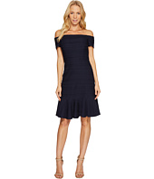 Rebecca Taylor - Off Shoulder Stretch Texture Dress