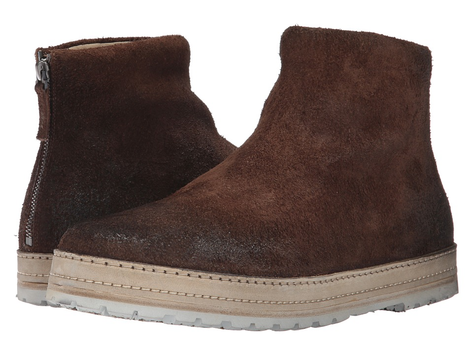 Marsell - Back Zip Suede Boot