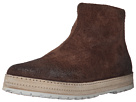 Marsell Back Zip Suede Boot