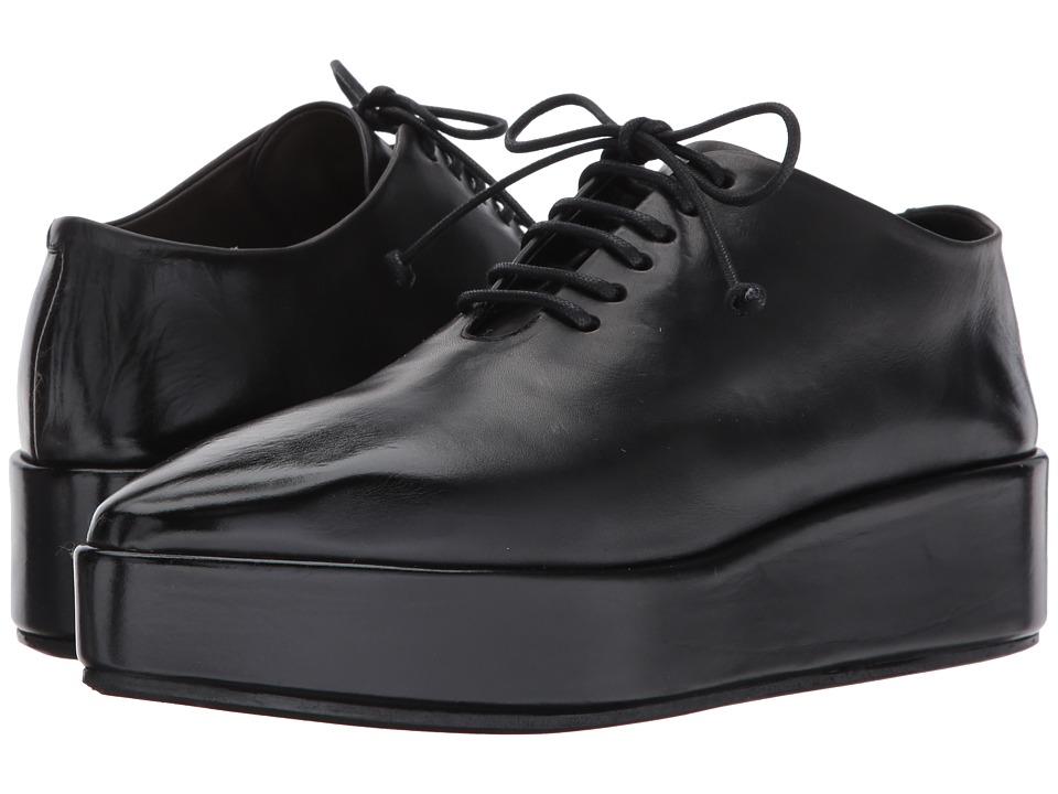 Marséll Lace-Up Flatform (Black) Women's Shoes