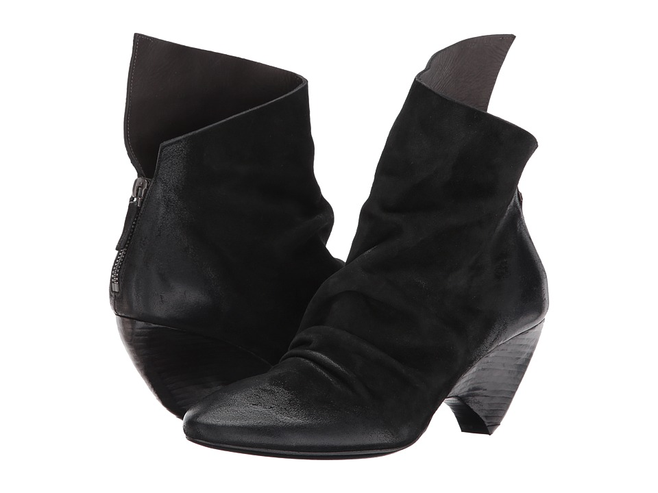 Marsell Suede Bootie (Black) Women